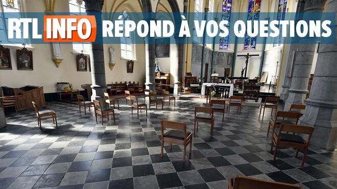 Quand les églises belges vont-elles rouvrir ? Les Évêques de Belgique donnent une indication à ce sujet